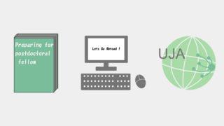 研究留学関連の書籍とインターネットと支援団体
